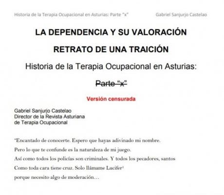 La dependencia y su valoración. Retrato de una traición. Gabriel Sanjurjo Castelao