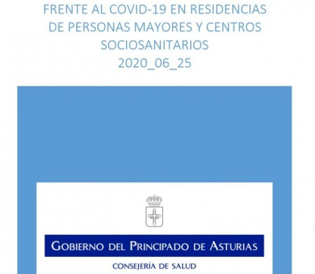 Procedimiento de actuación frente al COVID-19 en residencias de personas mayores y centros sociosanitarios